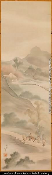 The Three Visits by Liubei to the Thatched Hut of Zhuge Konming