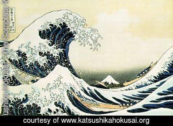 Katsushika Hokusai - The Great Wave Off Kanagawa 1823