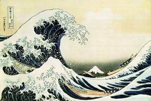 The Great Wave Off Kanagawa 1823
