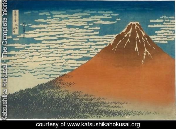 'Gaifu Kaisei' (Fine Wind, Clear Weather), Also Known As 'Aka Fuji' (Red Fuji)
