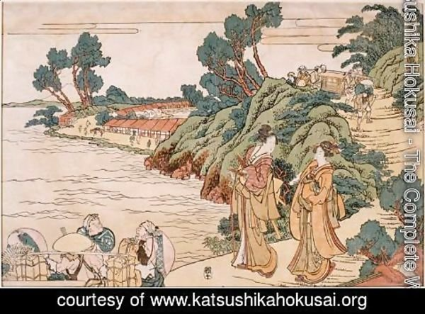 Katsushika Hokusai - Primer Book of Treasury loyal vassals