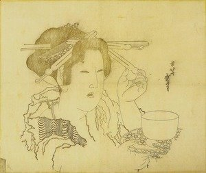 Woman with a Teacup