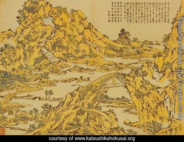 Landscape with a Hundred Bridges